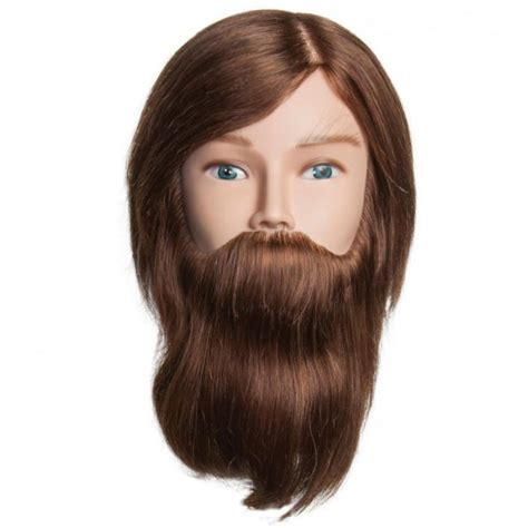 100 Human Hair Mannequin by Diane Henry 100 Human Hair Mannequin W Beard