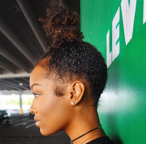 pics of black women pretty big hair buns with added hair 17 best images about buns galore on pinterest high