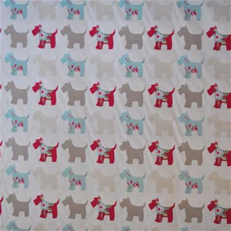 Dog Pattern Fabric Uk | kids curtain fabric for curtains blinds and bedding