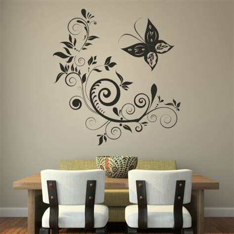 simple wall paintings for living room through wall decals create you wonderful walls to fall in