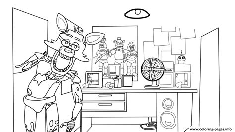 Five Nights At Freddy House Five Nights At Freddys Fnaf Coloring Pages 5 Nights At Freddy S