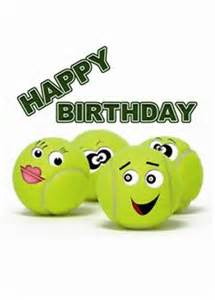 tennis cupcake happy birthday card sms nachrichten