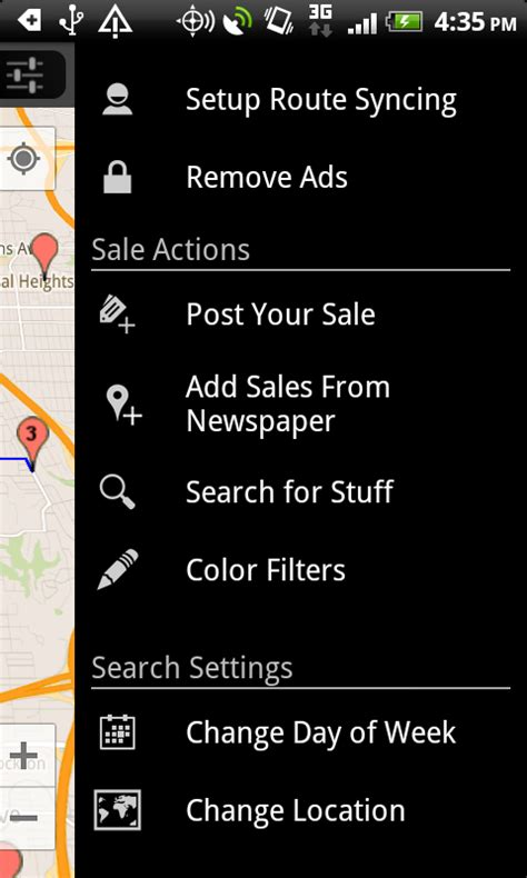 Craigslist Garage Sale Map by Yard Sale Treasure Map Android Apps On Play