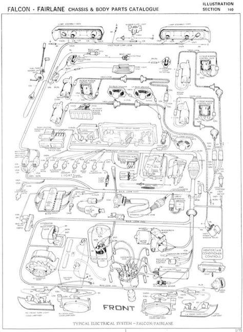 ford falcon xb fairlane zg wiring diagram photo this