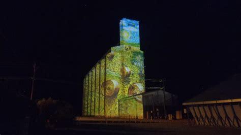 colour  karoonda silo art launch  jun