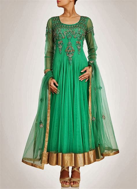 long sut new designs of long anarkali suits collection 2014