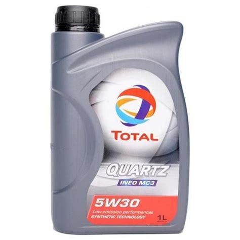Oli Total Quartz 5w30 Total Quartz Ineo Mc3 5w 30 Olio Motore Oli Motore Per