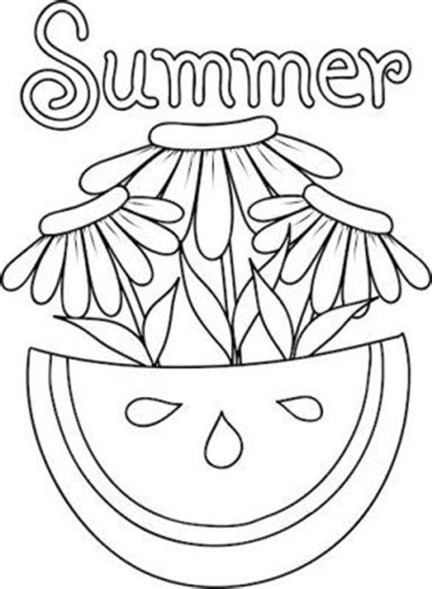 coloring pages summer flowers summer flower coloring pages murderthestout