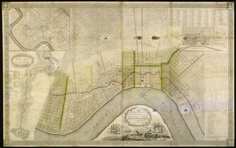 collins  diboll vieux carre survey maps page