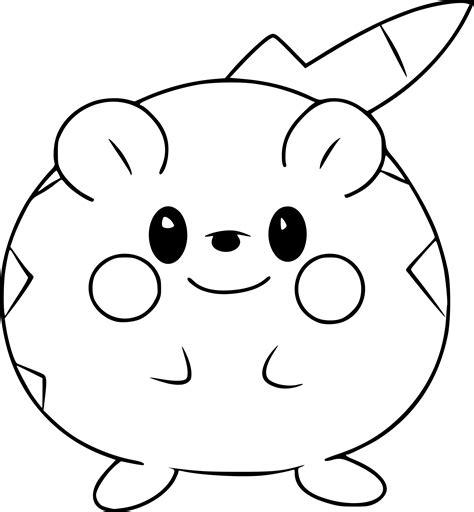 Coloriage Togedemaru Pokemon 224 Imprimer Dessin Imprimer De Pokemon L