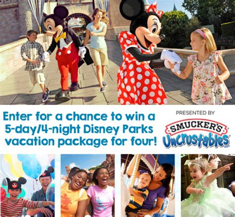 Disney Vacation Giveaways - share your disney adventure for a chance to win a trip for 4 to disney mommy s