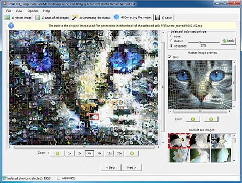 mosaic pattern software for mac artensoft photo mosaic wizard graphic design software 45