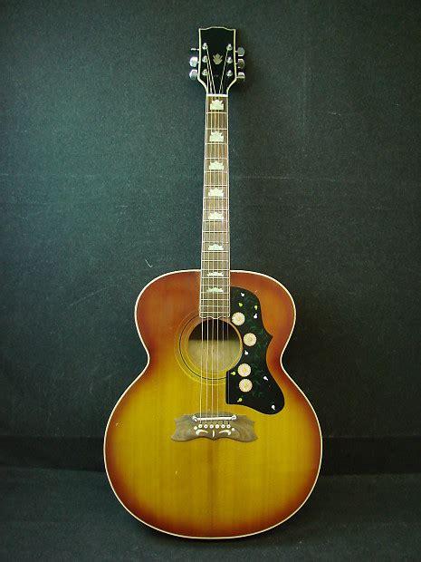 Ibanez Jumbo vintage made in japan j 200 jumbo acoustic guitar ibanez reverb