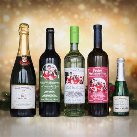 Flaschenetiketten Weihnachten by Weihnachtsgr 252 223 E Als Flaschenetikett F 252 R Kleine Sektflaschen