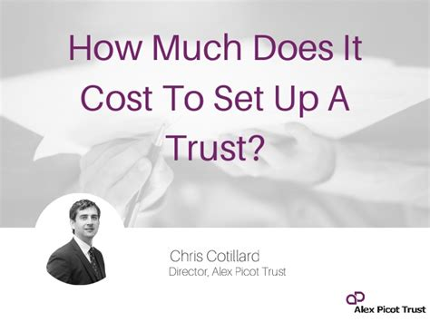 how much does it cost to set up a trust