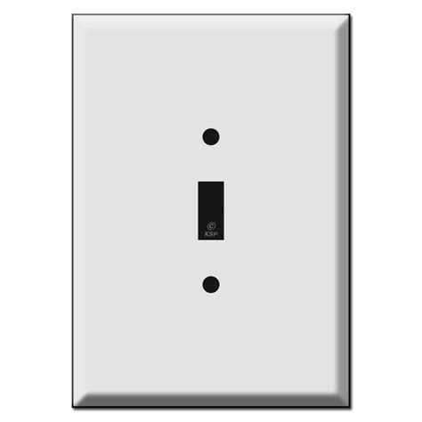 large light switch wall plate large oversized 1 toggle switch wall plate covers 6