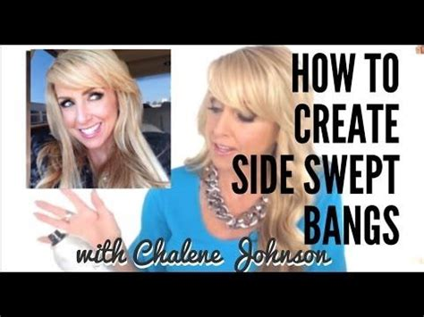 chelene johnson haircut 17 best images about bangs love on pinterest cute bangs