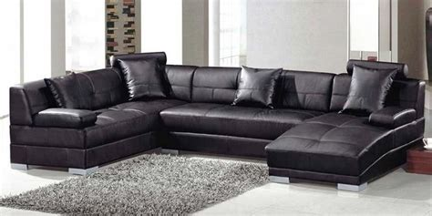 Leather Sectional Sofas With Chaise Top Leather Sectional Black Leather Sectional Sofa With Chaise