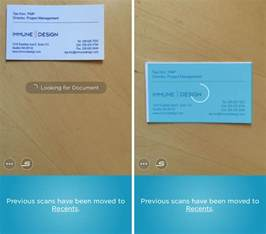 scan business cards how to quickly scan a business card and save contact info