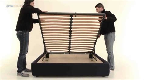 ammortizzatori letto contenitore come montare letti con contenitore