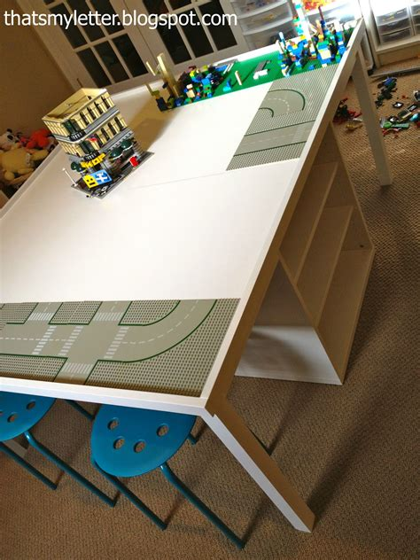 that s my letter diy lego play table