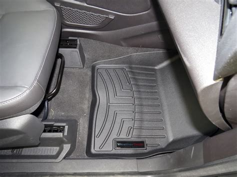 2003 Ford Escape Floor Mats by Weathertech Front Auto Floor Mats Black Weathertech