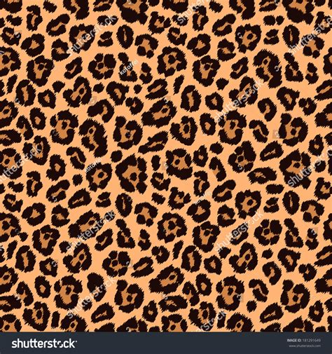 leopard print texture pattern by happycer4027 chic vector seamless patterns tiling animal stock vector