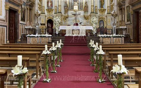 decoracion floral iglesia boda flores para bodas andr 243 meda dreams flowers