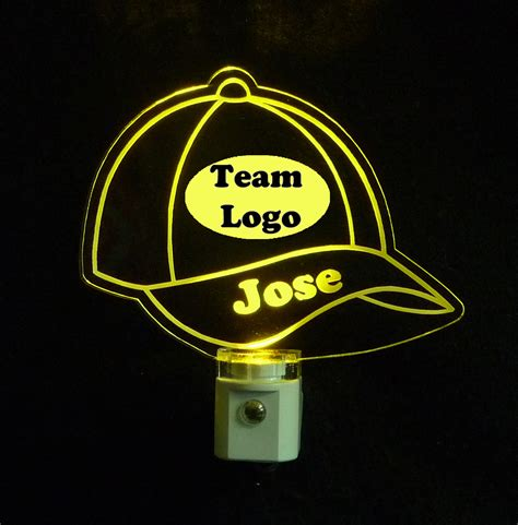 baseball cap light personalized with logo