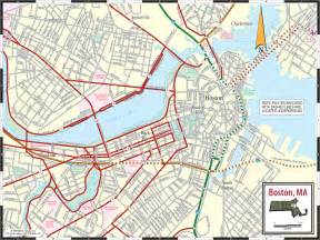 Boston T Map Overlay by Maps Of Boston Massachusetts World Map Photos And Images