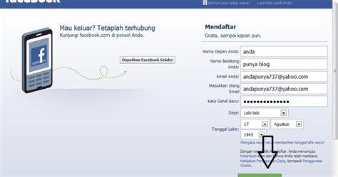 cara membuat sim terbaru cara mudah membuat akun facebook terbaru anda punya blog