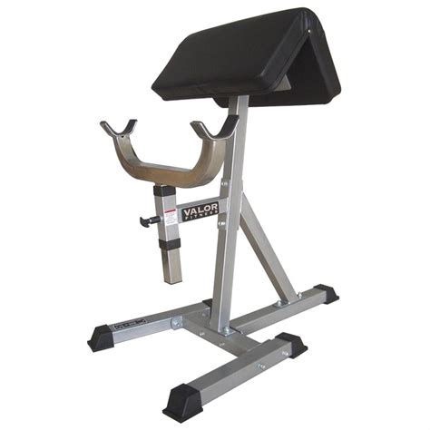 arm curl bench valor athletics inc cb 10 standing arm curl bench 188549 at sportsman s guide