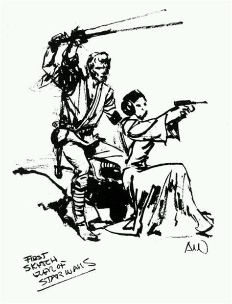 al williamson s first star wars sketch tattoo pinterest