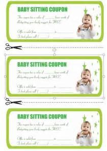 babysitting coupon book template 20 free printable babysitting coupon book templates