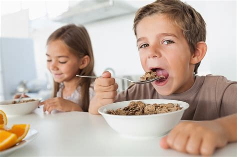 get kids to eat breakfast kids eating two breakfasts less likely to be overweight than those eating none ratemds health news