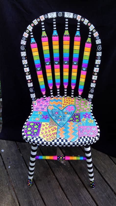 painted chair best 25 painted chairs ideas on painted