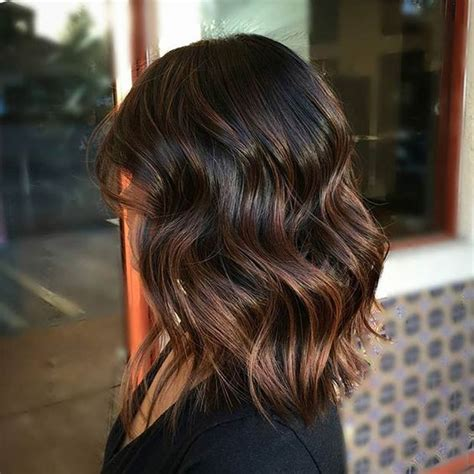 medium brown hair balayage pictures to pin on pinterest 35 gorgeous highlights for brightening up dark brown hair
