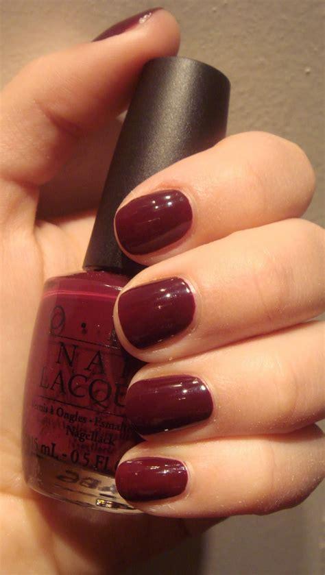 burgundy nail polish colors burgundy nails pinterest