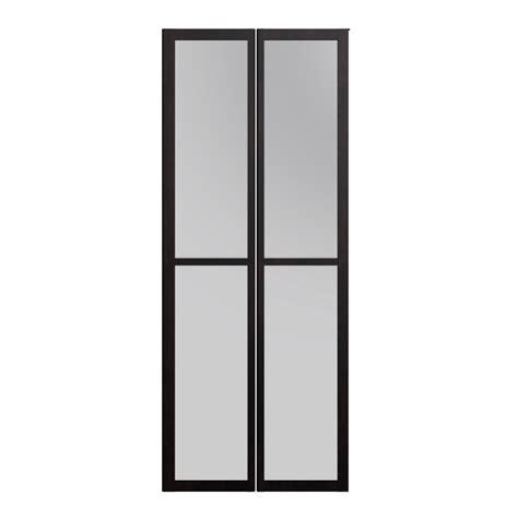 Door Glass by Billy Olsbo Glass Door Black Brown 2x Design And