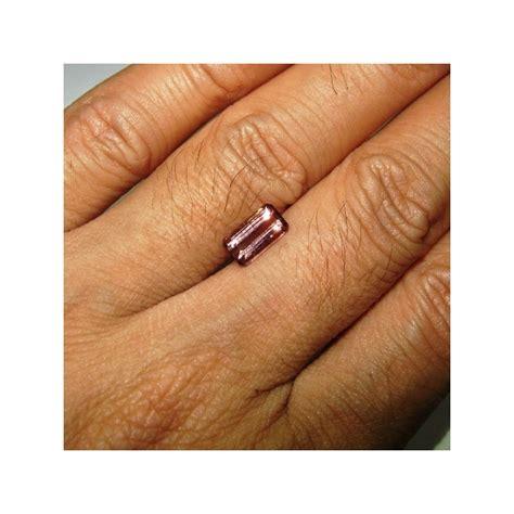 Cincin Batu Permata Berkilau jual batu permata tourmaline 1 66 carat warna pink berkilau