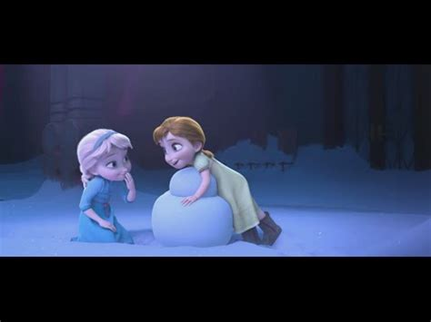 film frozen story quot snowman quot clip the story of frozen making a disney