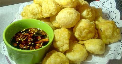 resep bakso goreng enak  sederhana cookpad