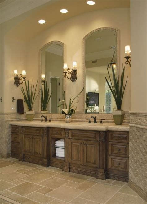 Bathroom Vanity Decorating Ideas Decoration Decorative Cottage Bathroom Vanity Lights With Small Empire L Shade And Wall