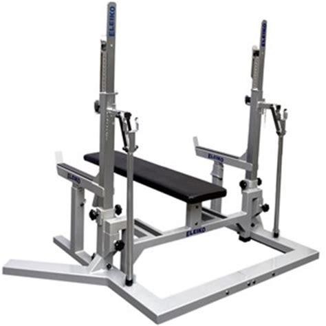 eleiko bench eleiko pl squat stand bench silver black force sports