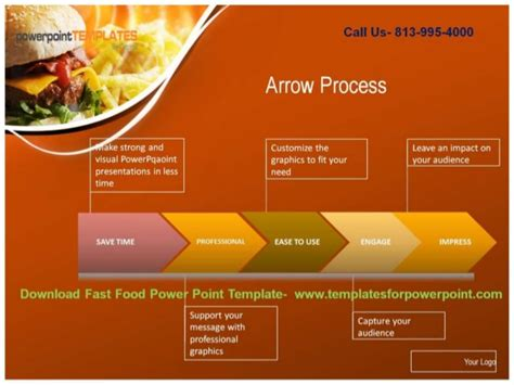 Online Downaload Fast Food Powerpoint Template Fast Food Powerpoint Template