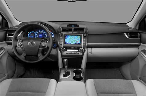 Toyota Camry 2012 Interior by 2012 Toyota Camry Hybrid Price Photos Reviews Features