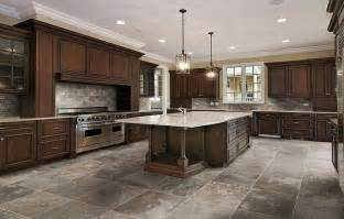Tile Kitchen Floors Ideas Kitchen Floor Tile Layout Ideas Pictures To Pin On Pinterest