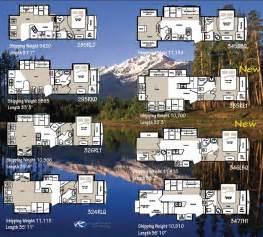 Cougar Rv Floor Plans Keystone Montana Mountaineer Fifth Wheel Floorplans