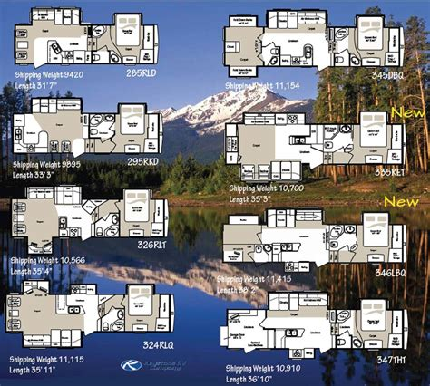 2007 montana 5th wheel floor plans keystone montana mountaineer fifth wheel floorplans