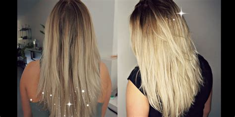 add darker roots to bleached hair how to darken roots at home hair tutorial youtube